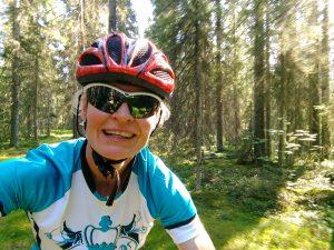 Mountainbike Finnland 2019 - Ute Jansen