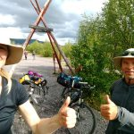 Mountainbike Lappland 2019 - Kungsleden Nikkaluokta