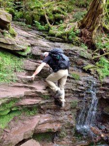 Wanderung mit Klettereinlagen im Schwarzwald