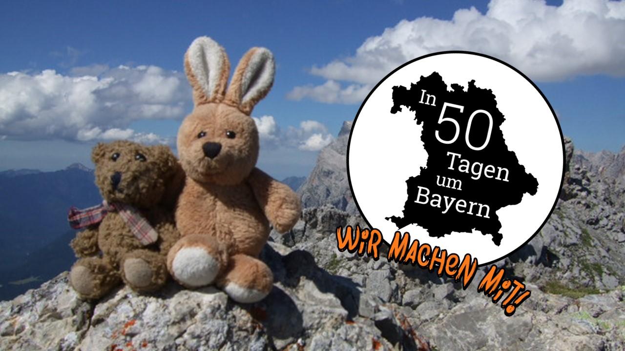 Spendenaktion - In 50 Tagen um Bayern - wir machen mit