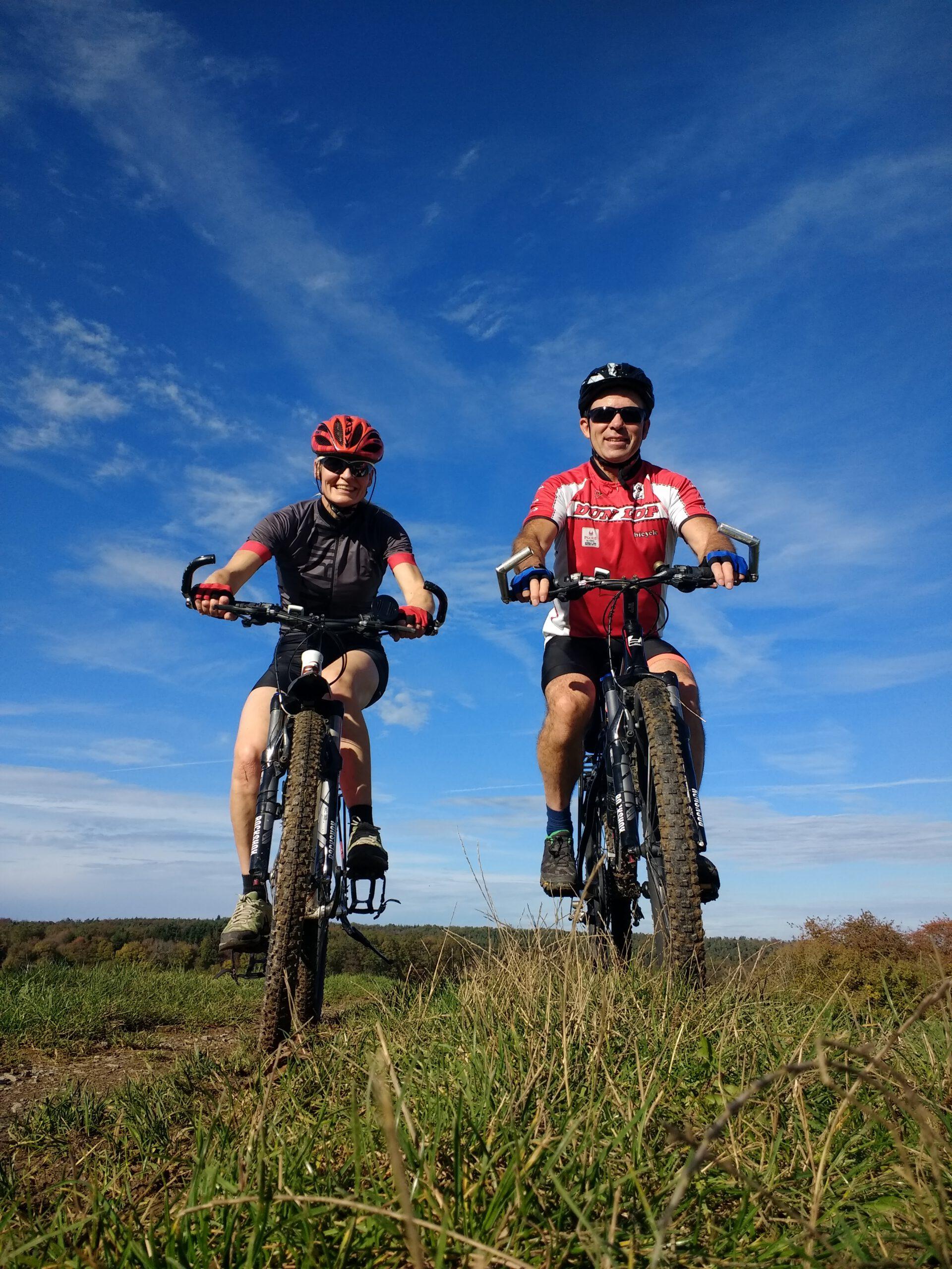 Mountainbike Nahaufnahme