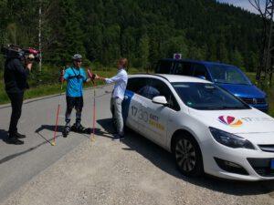 SAT1 Reportage beim Training in Oberammergau