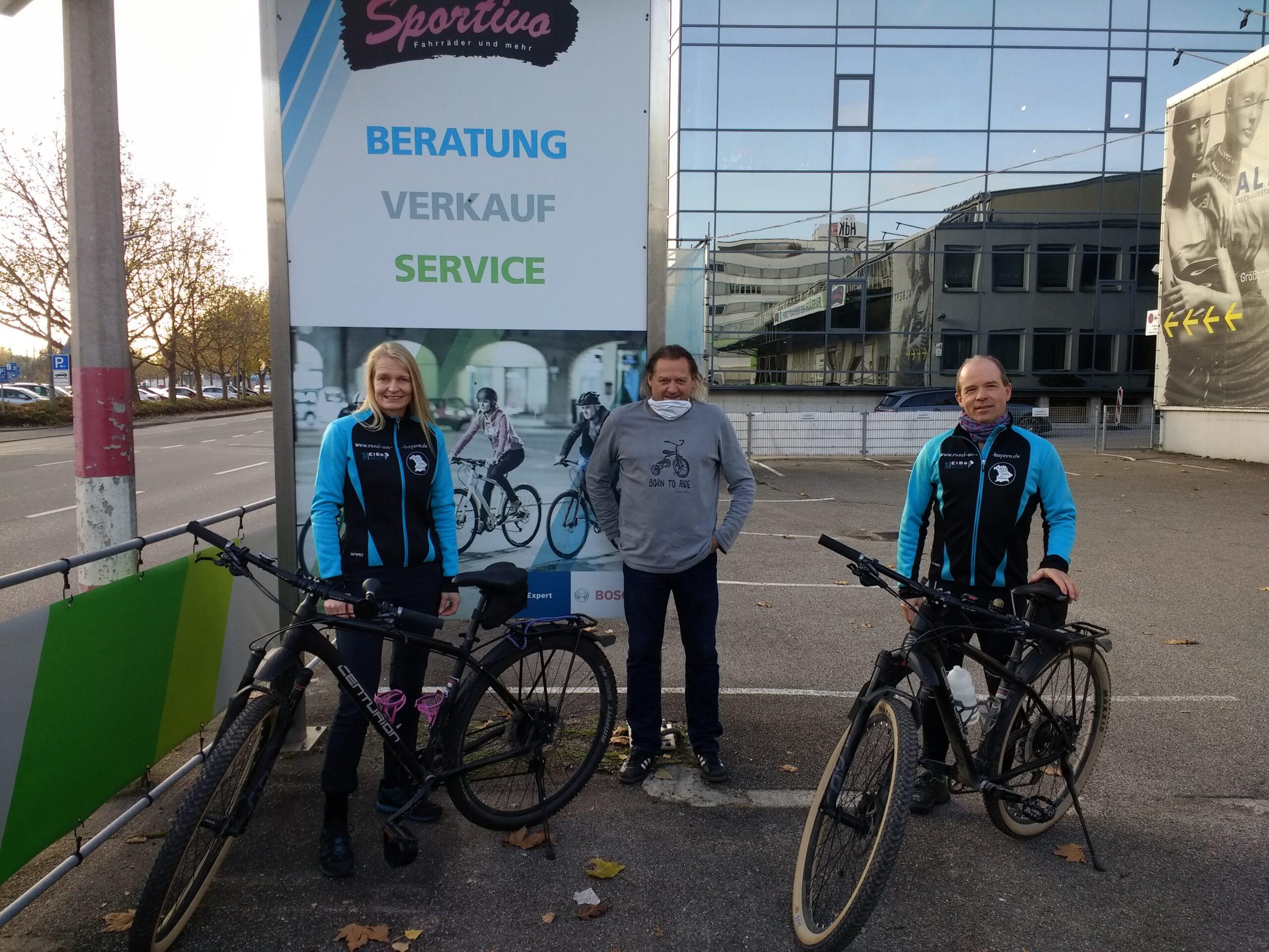 Sportivo Bikes Übergabe